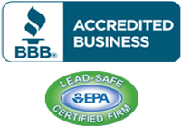 Steve Di Sisto General Contractors, Inc is a BBB Accredited Business and a Lead-Safe Certifited Firm